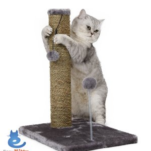 "20"" Sea Grass Scratching Post with Spring Toy  - 2 Pack"