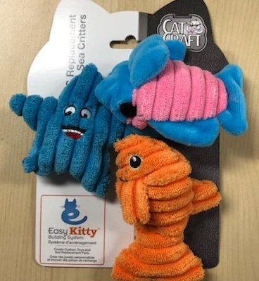 Replacement Sea Critters (3 Pack)