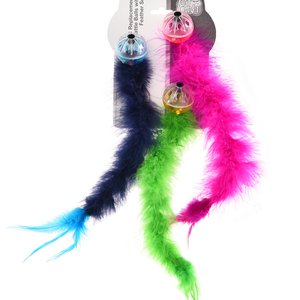 EK QC Feather Tail Jingle Balls (9 Total)