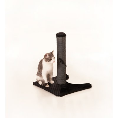 "18 "" Max and Marlow Sisal Scratching Post - Grey Sisal - 1 Pack"