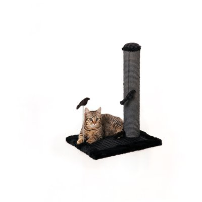 "20"" Max and Marlow Medium Sisal Scratching Post - Grey Sisal - 1 Pack"